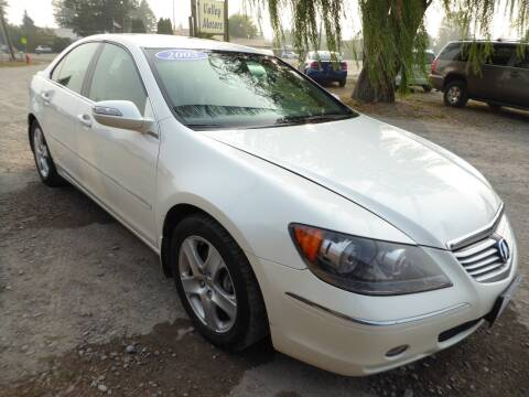 2005 Acura RL for sale at VALLEY MOTORS in Kalispell MT