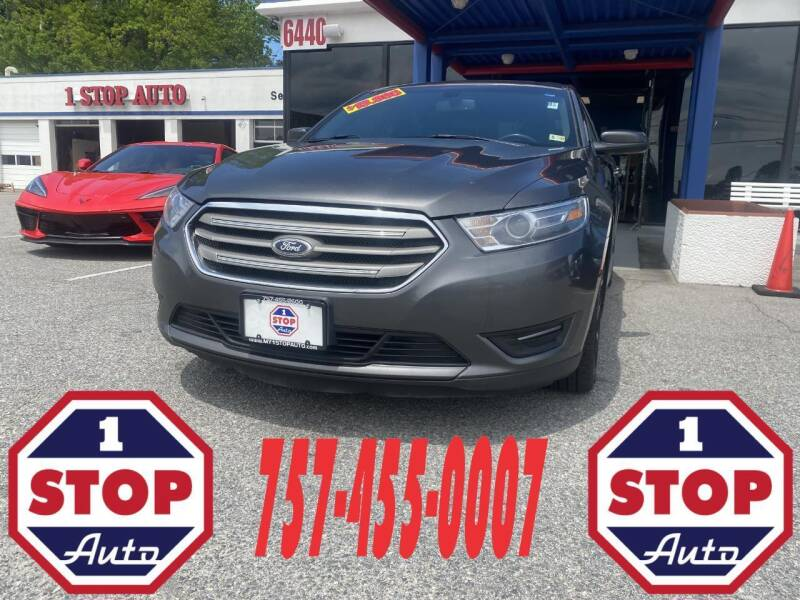 2015 Ford Taurus for sale at 1 Stop Auto in Norfolk VA