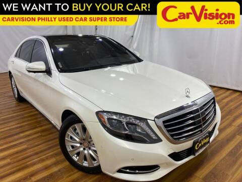 2015 Mercedes-Benz S-Class for sale at Car Vision Mitsubishi Norristown - Car Vision Philly Used Car SuperStore in Philadelphia PA