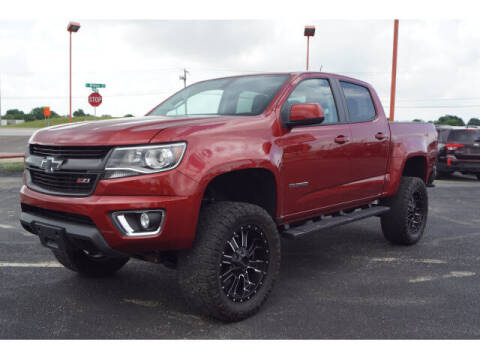 2015 Chevrolet Colorado for sale at Monthly Auto Sales in Fort Worth TX