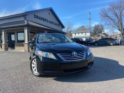 2009 Toyota Camry Hybrid for sale at Drapers Auto Sales in Peru IN