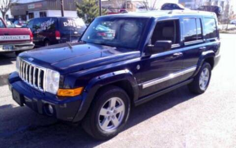 2006 Jeep Commander for sale at CANDOR INC in Toms River NJ