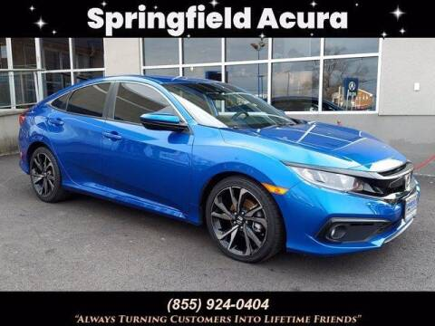 2020 Honda Civic for sale at SPRINGFIELD ACURA in Springfield NJ