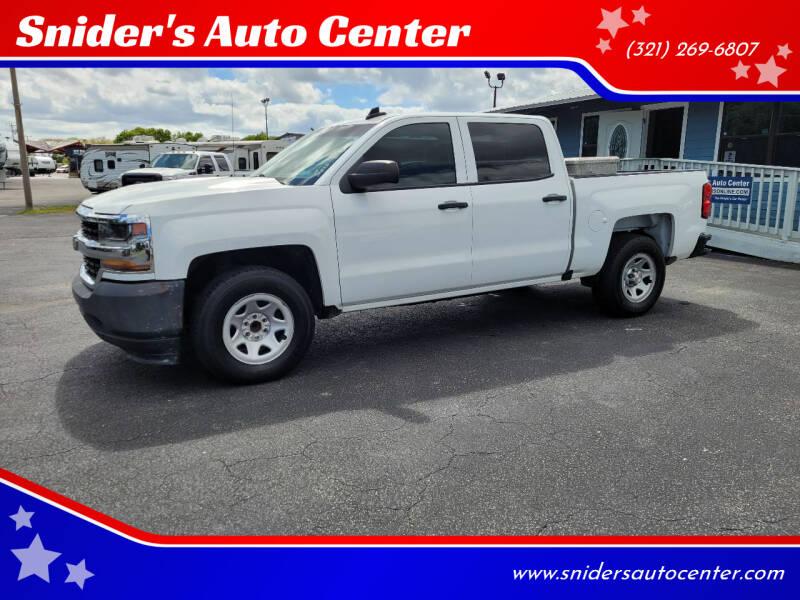 2016 Chevrolet Silverado 1500 for sale at Snider's Auto Center in Titusville FL