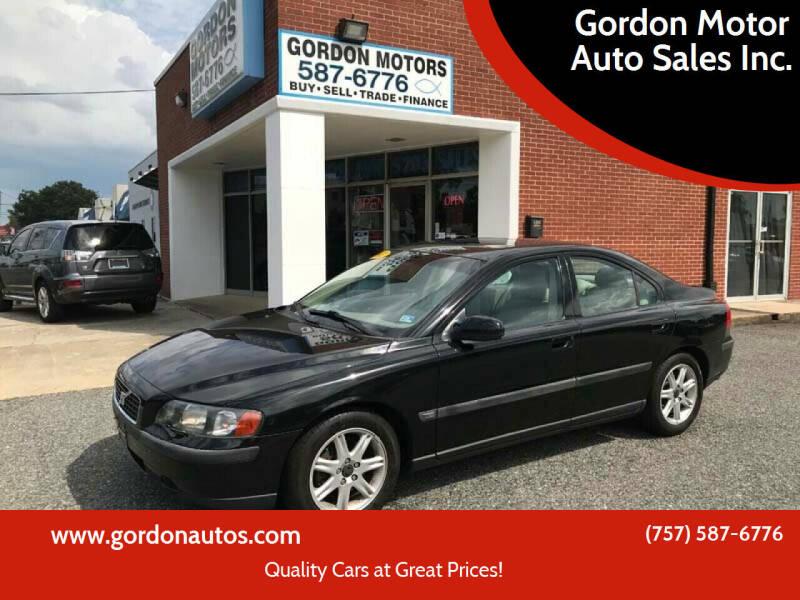 2002 Volvo S60 for sale at Gordon Motor Auto Sales Inc. in Norfolk VA