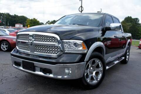 2013 RAM Ram Pickup 1500 for sale at CU Carfinders in Norcross GA