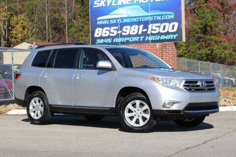 2013 Toyota Highlander for sale at Skyline Motors in Louisville TN