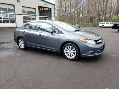 2012 Honda Civic for sale at MOUNT EDEN MOTORS INC in Bronx NY