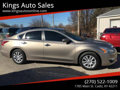 2014 Nissan Altima for sale at Kings Auto Sales in Cadiz KY