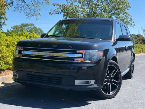 2014 Ford Flex for sale at William D Auto Sales in Norcross GA