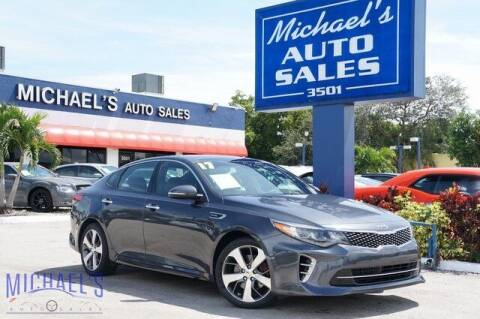 2017 Kia Optima for sale at Michael's Auto Sales Corp in Hollywood FL