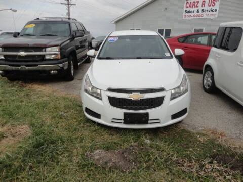 2012 Chevrolet Cruze for sale at Carz R Us 1 Heyworth IL - Carz R Us Armington IL in Armington IL