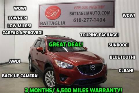 2013 Mazda CX-5 for sale at Battaglia Auto Sales in Plymouth Meeting PA