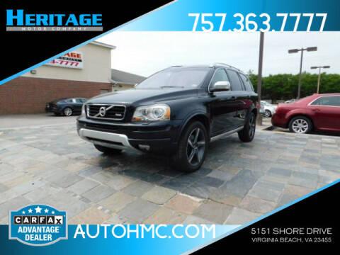 2014 Volvo XC90 for sale at Heritage Motor Company in Virginia Beach VA