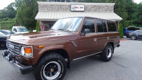 1982 Toyota Land Cruiser for sale at Driven Pre-Owned in Lenoir NC