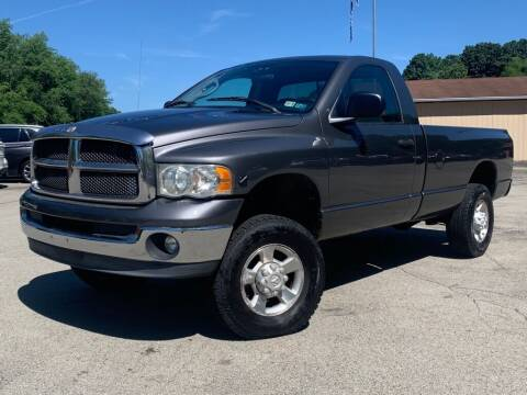 2003 Dodge Ram Pickup 2500 for sale at Elite Motors in Uniontown PA