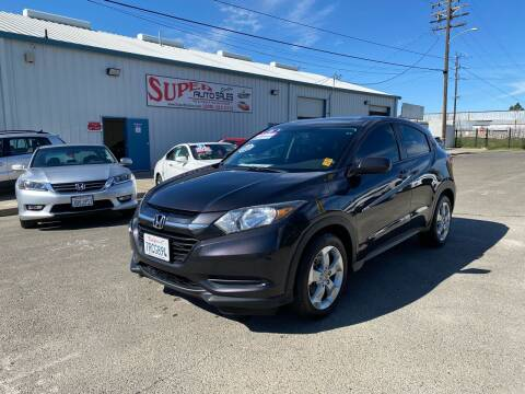 2016 Honda HR-V for sale at SUPER AUTO SALES STOCKTON in Stockton CA