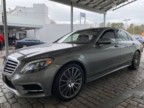 2015 Mercedes-Benz S-Class for sale at Southern Auto Solutions-Jim Ellis Volkswagen Atlan in Marietta GA