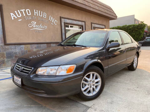 2001 Toyota Camry for sale at Auto Hub, Inc. in Anaheim CA