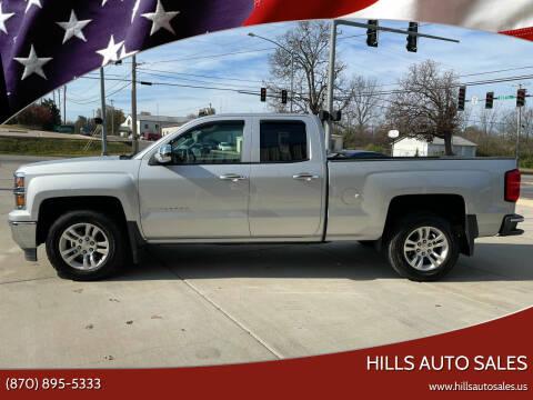 2014 Chevrolet Silverado 1500 for sale at Hills Auto Sales in Salem AR