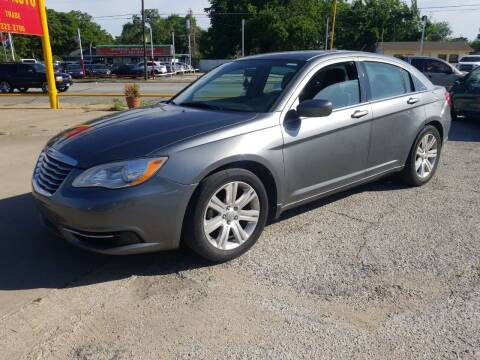 2013 Chrysler 200 for sale at Nile Auto in Fort Worth TX