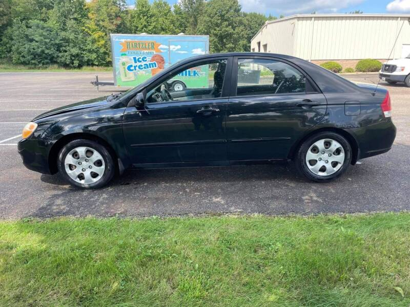 2008 Kia Spectra for sale at Main Stream Auto Sales, LLC in Wooster OH