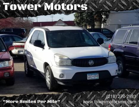 2007 Buick Rendezvous for sale at Tower Motors in Brainerd MN