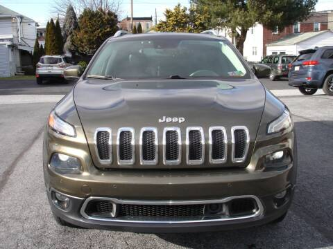 2015 Jeep Cherokee for sale at Pete's Bridge Street Motors in New Cumberland PA