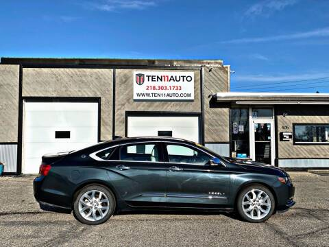 2018 Chevrolet Impala for sale at Ten 11 Auto LLC in Dilworth MN