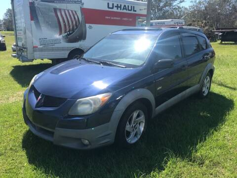 2003 Pontiac Vibe for sale at CARZ4YOU.com in Robertsdale AL