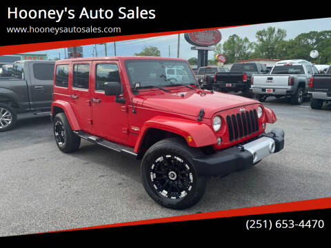 2014 Jeep Wrangler Unlimited for sale at Hooney's Auto Sales in Theodore AL