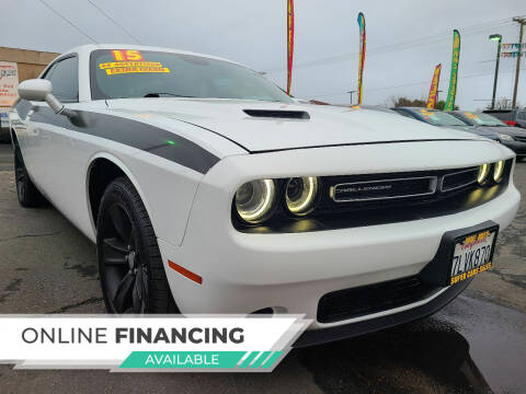 2015 Dodge Challenger for sale at Super Cars Sales Inc #1 - Super Auto Sales Inc #2 in Modesto CA
