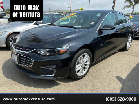2018 Chevrolet Malibu for sale at Auto Max of Ventura in Ventura CA