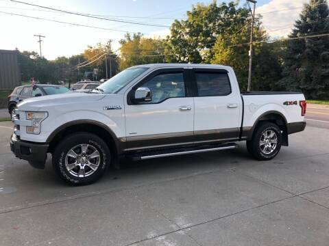 2016 Ford F-150 for sale at Dussault Auto Sales in Saint Albans VT