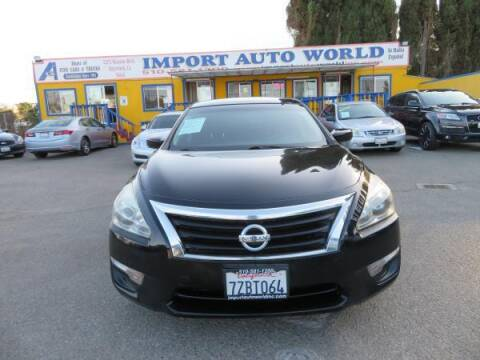 2014 Nissan Altima for sale at Import Auto World in Hayward CA