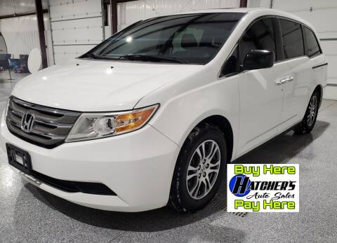 2012 Honda Odyssey for sale at Hatcher's Auto Sales, LLC - Buy Here Pay Here in Campbellsville KY