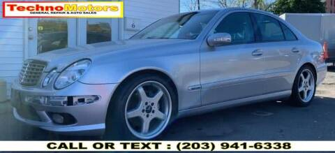 2006 Mercedes-Benz E-Class for sale at Techno Motors in Danbury CT