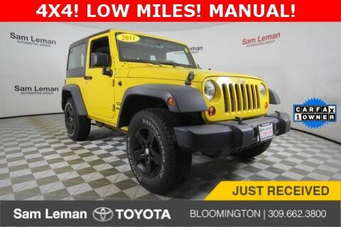 2011 Jeep Wrangler for sale at Sam Leman Toyota Bloomington in Bloomington IL