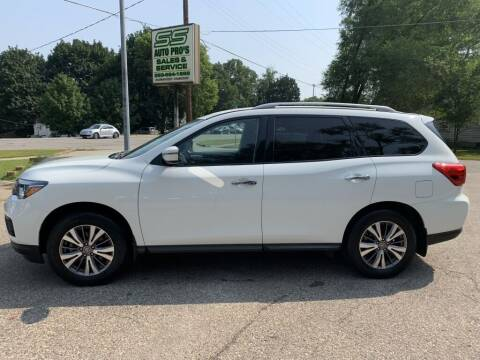 2018 Nissan Pathfinder for sale at SS AUTO PRO'S in Otsego MI