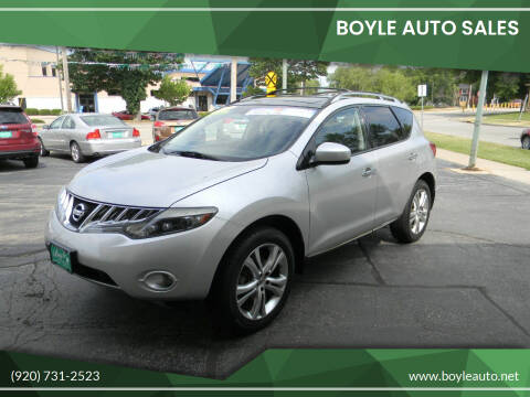 2009 Nissan Murano for sale at Boyle Auto Sales in Appleton WI