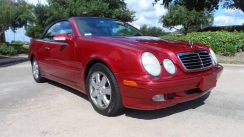 2002 Mercedes-Benz CLK for sale at Exhibit Sport Motors in Houston TX