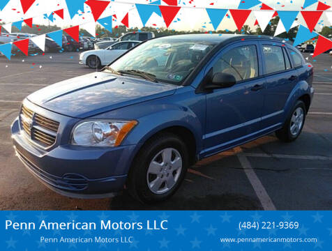 2007 Dodge Caliber for sale at Penn American Motors LLC in Allentown PA