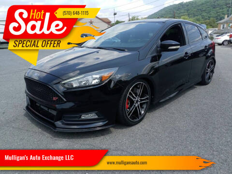 2015 Ford Focus for sale at Mulligan's Auto Exchange LLC in Paxinos PA