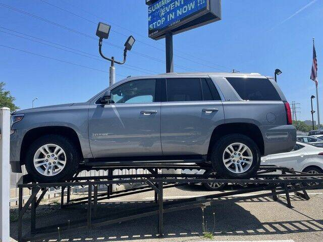 2016 Chevrolet Tahoe for sale at SOUTHFIELD QUALITY CARS in Detroit MI