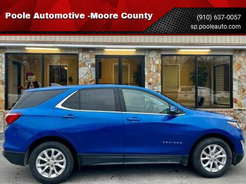 2019 Chevrolet Equinox for sale at Poole Automotive in Laurinburg NC