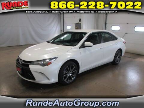 2017 Toyota Camry for sale at Runde Chevrolet in East Dubuque IL