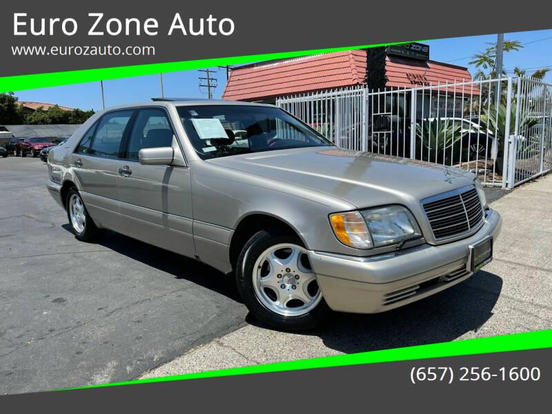 1998 Mercedes-Benz S-Class for sale at Euro Zone Auto in Stanton CA