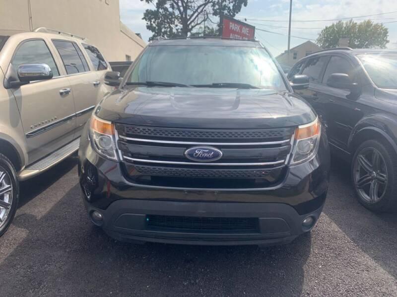 2013 Ford Explorer for sale at Park Avenue Auto Lot Inc in Linden NJ