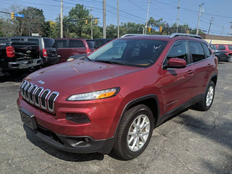 2015 Jeep Cherokee for sale at Richland Motors in Cleveland OH