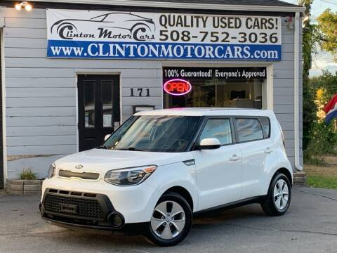 2016 Kia Soul for sale at Clinton MotorCars in Shrewsbury MA